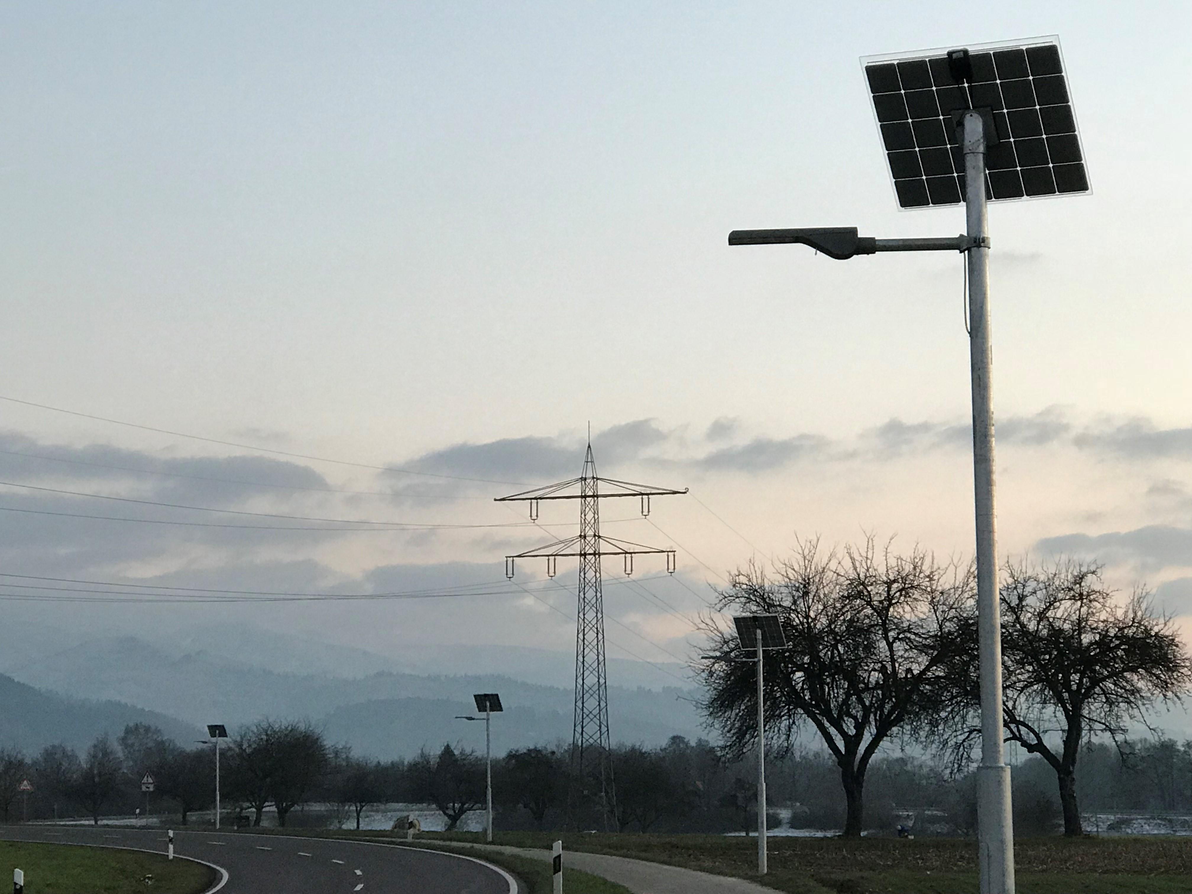 Gemeindewerke Gundelfingen - Pilotprojekt Solare Straßenbeleuchtung